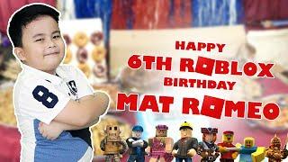 Matmats 6. Geburtstag - Roblox Thema Kuchen