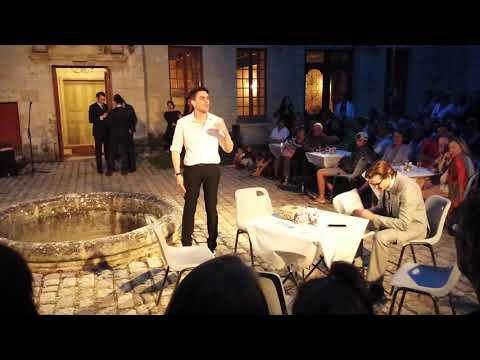 Le Misanthrope par la Compagnie BLAST - Générale à l'Echevinage de Loudun - 25 août 2017