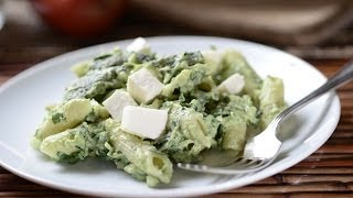 Pasta With Avocado And Poblano Chile - How To Cook