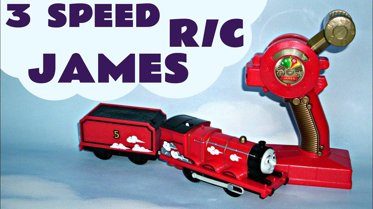Trackmaster Thomas The Tank 3 Speed Remote Control James