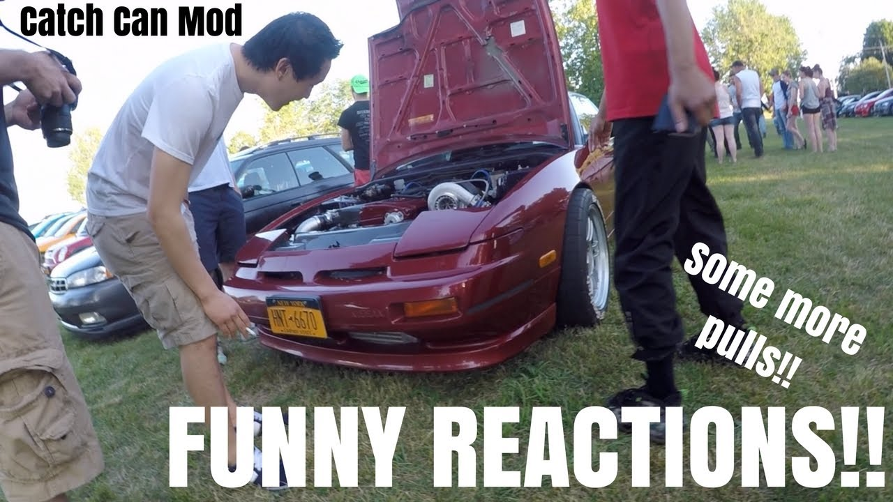 Funny Reactions BIG TURBO RB Swap 240SX #1