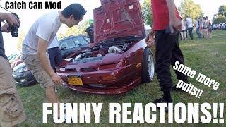 Funny Reactions BIG TURBO RB Swap 240SX #1