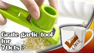Quick and Easy Garlic Grater- AliExperts