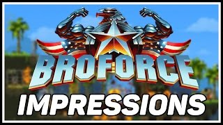 "BROFORCE: First Impressions & Gameplay - ""Bloody Good Fun"""