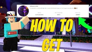HOW TO GET THE *PUMPKIN CONTEST 2018* BADGE IN ROYALLOWEEN! (Roblox)