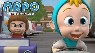 ARPO The Robot For All Kids - Baby Racer | Full Episode | Cartoon for Kids