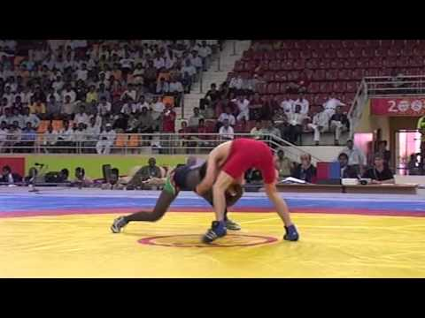 2008 Commonwealth Youth Games: 50 kg Justin Holland (AUS) vs. Lucas Thomas (Namibia)
