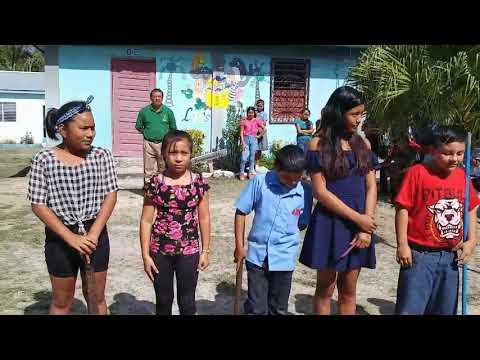 Promoting the Maya language in San Narciso RC school- Corozal
