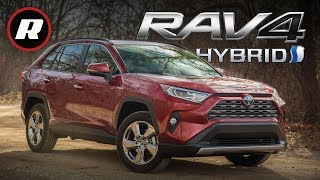Toyota's 2019 RAV4 Hybrid blends tougher form, function and fuel efficiency | Review