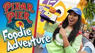 NEW Ultimate Foodie Guide to Pixar Pier!   Disney California Adventure