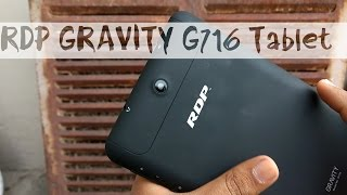 RDP G716 Gravity Tablet with INTEL Inside  Unboxing and overview