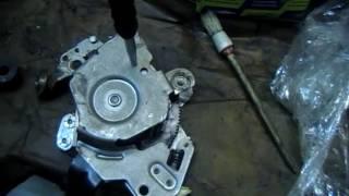 Вольво XC 90 замена тросов ручника/Volvo XC 90 Replacement of handbrake cables