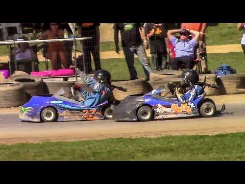 Senior 350 Clone Feature | Eriez Speedway | 9-23-17