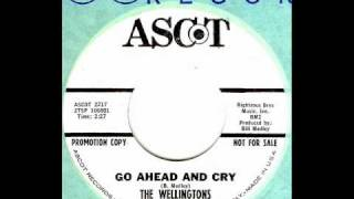 Wellingtons - GO AHEAD AND CRY  (Righteous Brothers)  (1965)