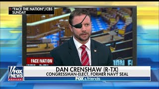 'I've Literally Been Attacked': Crenshaw Takes on Dems Accusing Trump of 'Attacking' Media