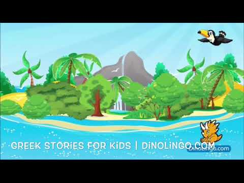 Peter Pan - Greek stories for kids. Greek books for kids