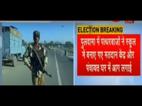 Major violence in J&K's Shopian and Pulwama
