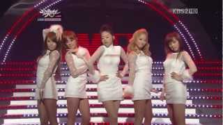 Wonder Girls - Be My Baby (Comeback Stage)