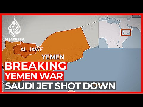 Saudi-UAE coalition warplane shot down in Yemen
