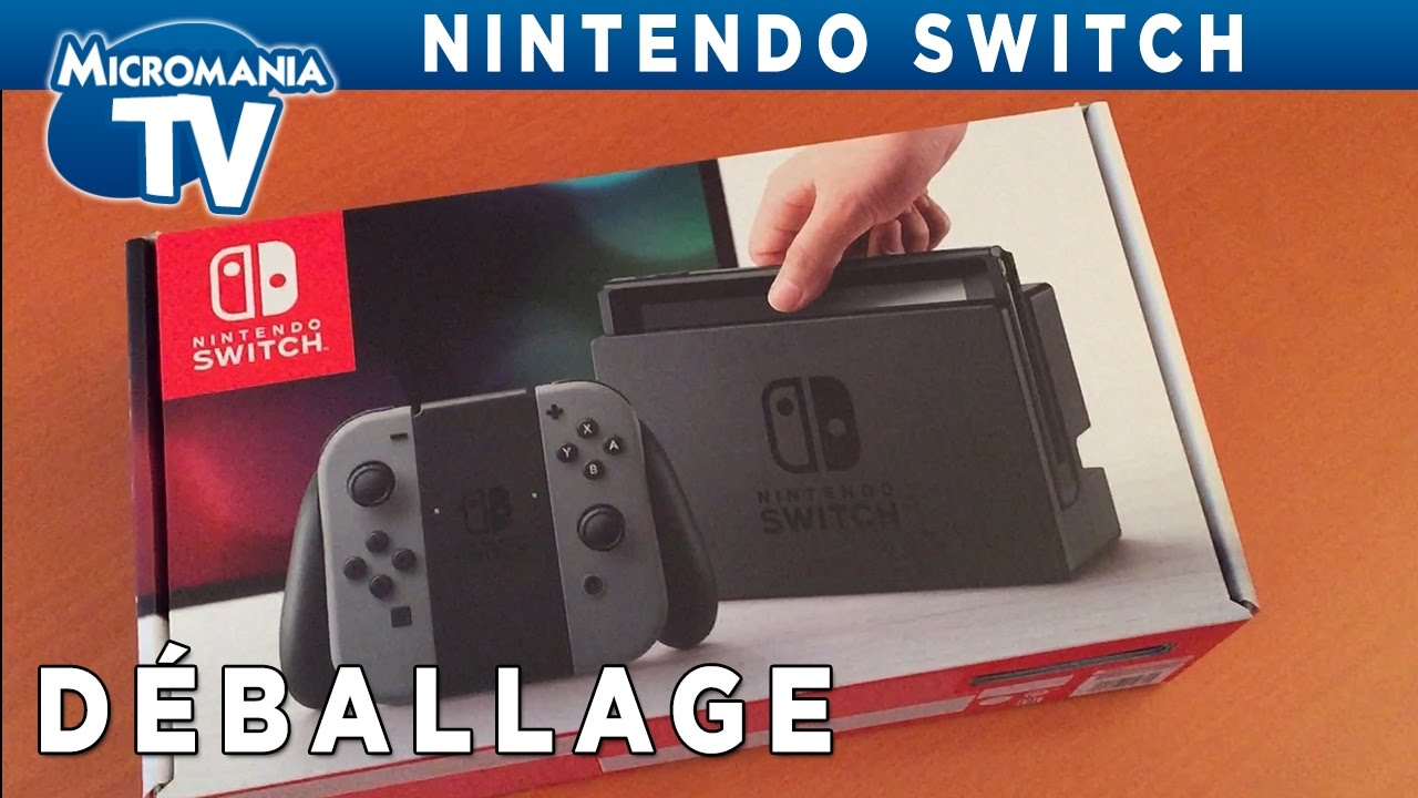 [DEBALLAGE] Découverte du pack Switch, la console de Nintendo