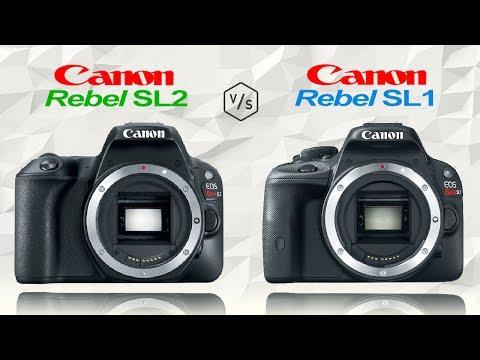 Canon Rebel SL2 vs Canon Rebel SL1