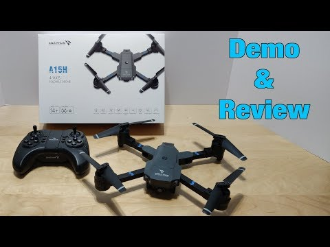 Фото Snaptain A15 Foldable FPV WiFi Drone - Demo & Review