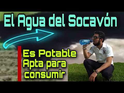 El Agua del Socavón de Puebla es Potable Según IPN No es Residual ni Sulfurosa