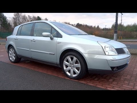 2004 Renault VEL SATIS 3.0 V6 DCi 180 Initiale Start-Up And Full Vehicle Tour