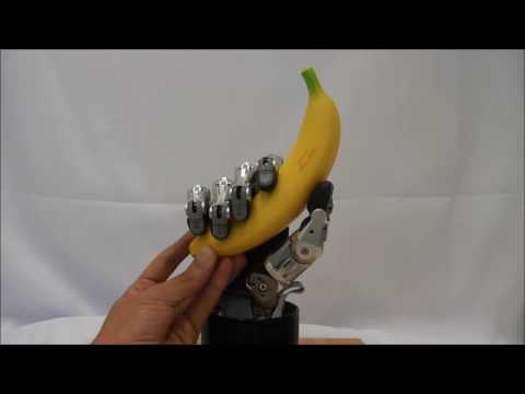 Mapping human hand movement on a robotic multifingered hand