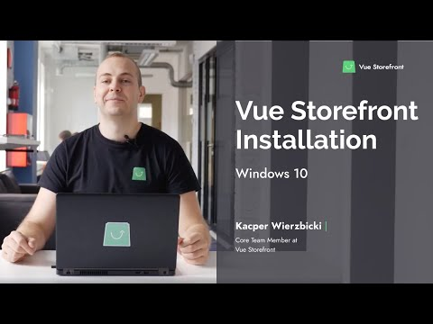 How To Install Vue Storefront On Windows?