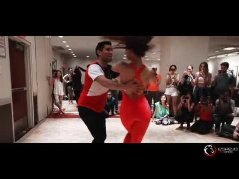 Henry Santos Ft. Mafio / Marco y Sara style / bachata workshop 2018 new york salsa congress
