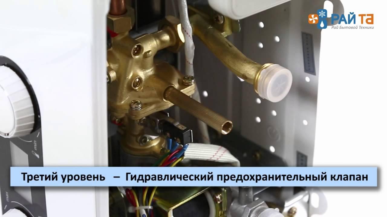 газовая колонка электролюкс 250 инструкция