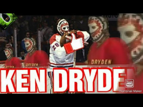 KEN DRYDEN Highlights Amazing Career Saves