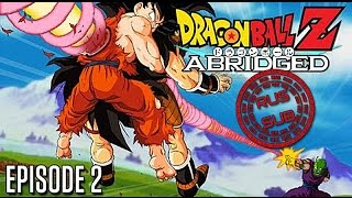 Dragon Ball Z Abridged Episode 2 Русские субтитры (Rus sub)