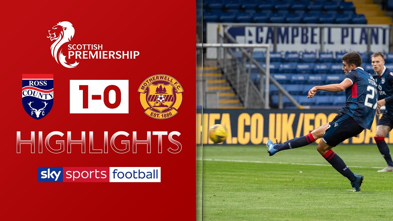 Stewart penalty downs 10-man Motherwell! | Ross County 1-0 Motherwell | Scottish Premiership