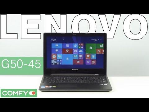 Видео-обзор ноутбука Lenovo IdeaPad G50-45 - YouTube