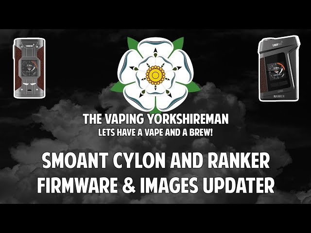 Smoant Firmware and Wallpaper/Screensaver Update
