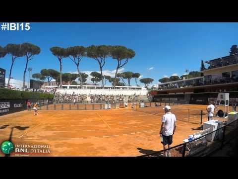 #IBI15 Djokovic e Wawrinka in allenamento al Foro Italico