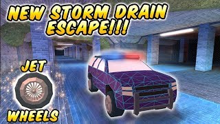 🎮NEW JAILBREAK UPDATE! UNDERGROUND STORM DRAIN ESCAPE! #Spongebob? (Roblox)