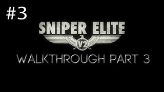 Sniper Elite V2 Walkthrough Part 3 Mittelwerk Facility [HD] (PC/PS3/360)