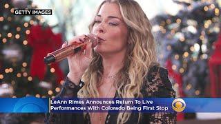 LeAnn Rimes Announces Return To Live Performances With Colorado Shows