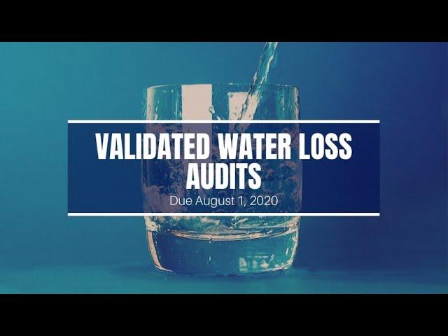 Indiana Water Loss Audits