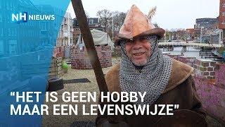 Ridder Lenny vaart met zijn kasteelboot door heel Europa