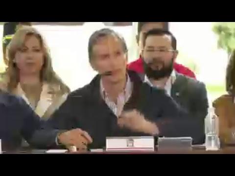 Presentación del Plan de Reconstrucción del Estado de México