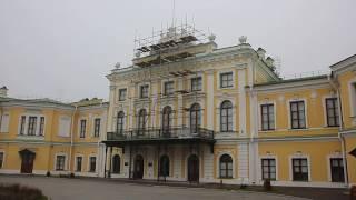Тверь. Реставрация фасада Императорского дворца Video