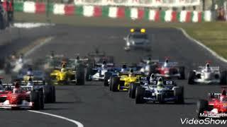 2002年F1スターティンググリッド紹介BGM ImpellitteriのHalloweenです ...