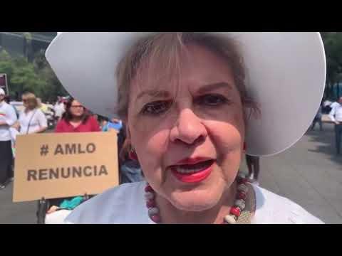 LA MARCHA FIFÍ Y LOS GRITOS CONTRA AMLO #MarchaFifí