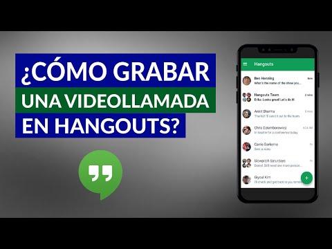Cómo Grabar una Videollamada con Sonido en Hangouts