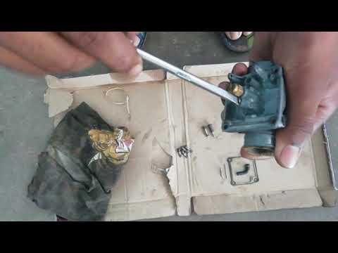 How to assemble tvs xl super carburetor