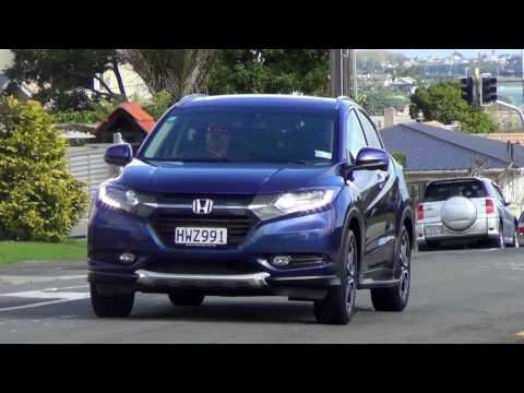 NZ Company Vehicle Video road report - 2016 Honda HR-V Sport X